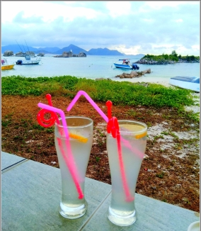 Mocktail with view !