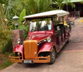 Taxi in La Digue